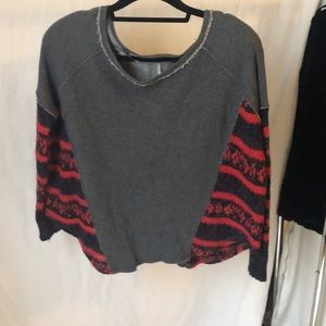 Free people sweater/sweater shirt